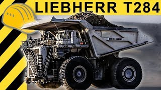 Biggest Dump Truck of the World - Liebherr T 284 Mining Truck Action & Inside - MINExpo 2012