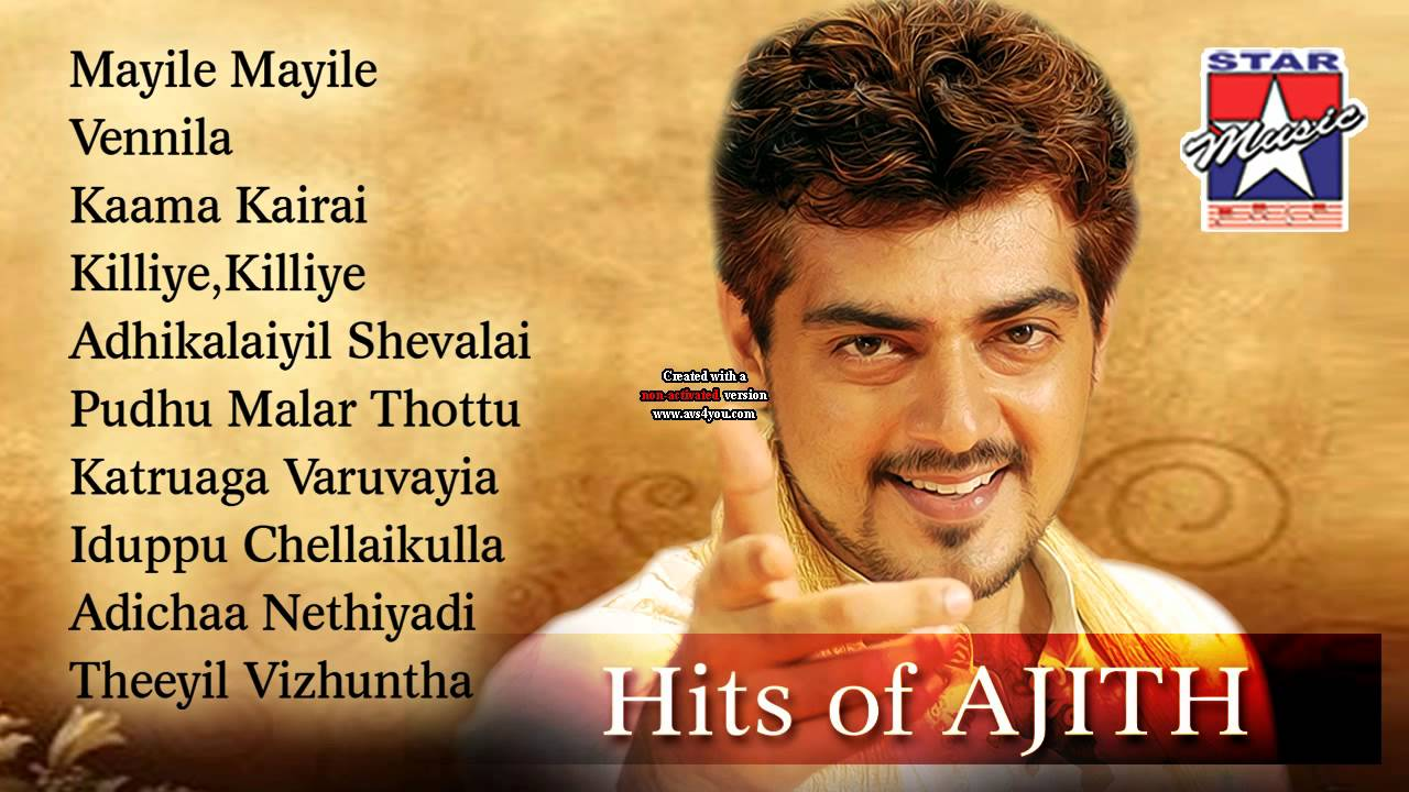 Ajith Super Hit Songs Jukebox