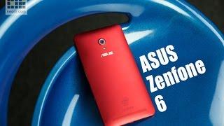 ASUS Zenfone 6 - обзор смартфона с 6' дисплеем HD, характеристики и дизайн