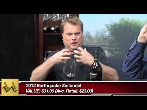 Earthquake Zinfandel 2012, Two Thumbs Up Wine Review