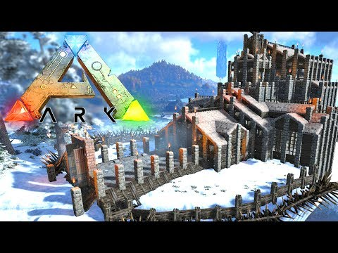 Building The Coolest Base In ARK?! Ark Survival Evolved The Center!! (