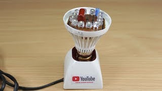 How to make NEW LED Light Bulb Reuse Old LED Bulb