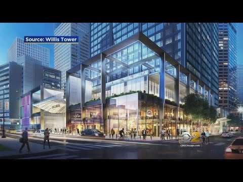 Willis Tower In Chicago Prepares For A $500M Face-Lift
