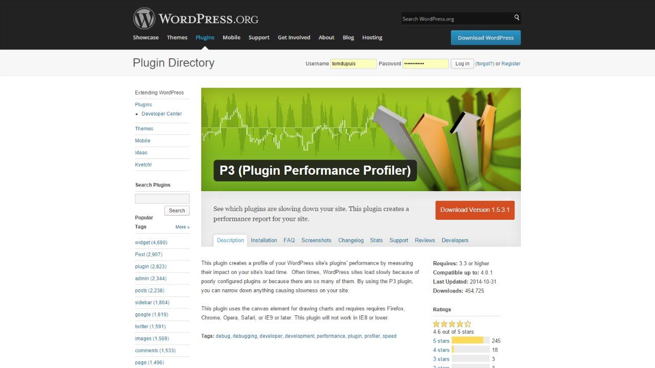 P3 Plugin Performance Profiler Tutorial - YouTube