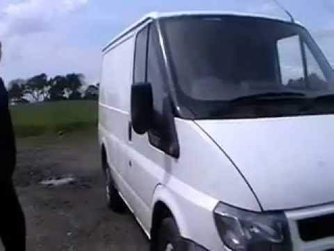 Ford Transit FWD 2.0L Turbo Diesel Commercial Van Spares or