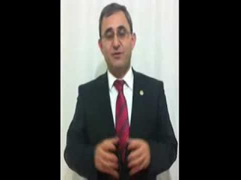 Prof.Dr.Alim IŞIK Bey'in Aslanapa Halkına Seslenişi