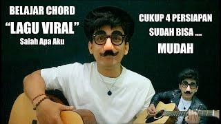 Tutorial Gitar Chord Asli Salah apa aku