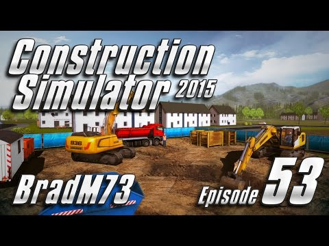 Construction Simulator 2015 GOLD EDITION - Episode 53 - Bridge Job and Drill Troubles!!