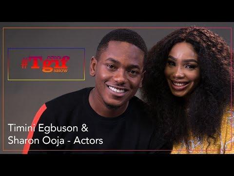 Sharon Ooja & Timini Egbuson on the NdaniTGIFShow