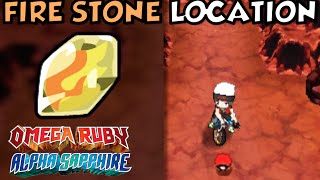 Where/How to obtain a Fire Stone (2 Ways) in Pokemon Omega Ruby and Alpha Sapphire