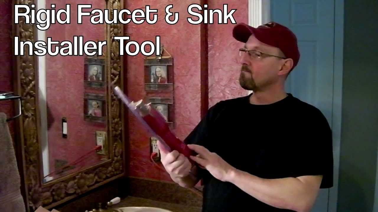 Removing Bathroom Faucet Youtube how to replace a bathroom faucet - youtube