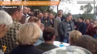 громада с. Ходоси м.Рівне не хоче молитися за Путіна у своїй церкві
