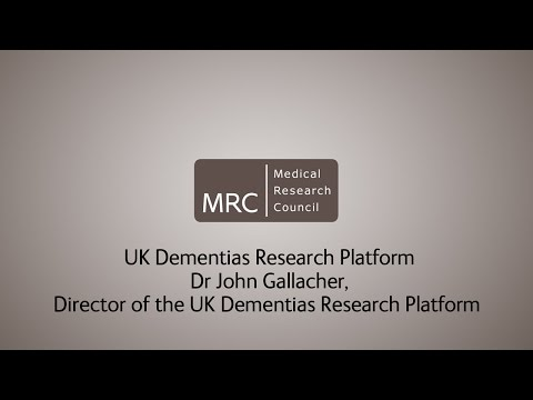 UK Dementias Research Platform - Dr John Gallacher