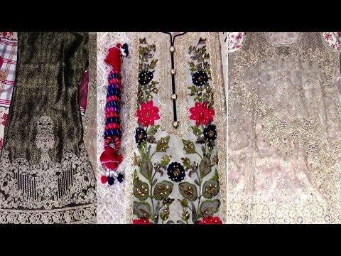 Pakistani Wedding & Party Embroidery Dresses | Designer Wedding Dresses Collection 2018 And 2019