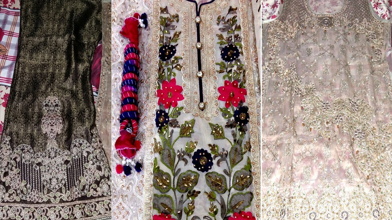 Pakistani Wedding Party Embroidery Dresses Designer Wedding