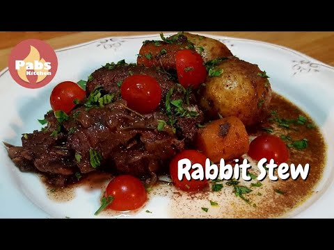 Rabbit Chanfana (Red Wine Stew!) 🍜 - Pabs Kitchen