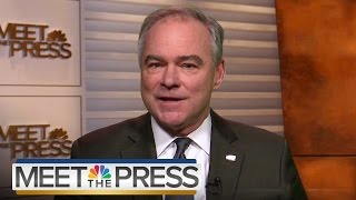 Tim Kaine On Ex. Order: Reince Priebus 'Demonstrated Complete Confusion' | Meet The Press | NBC News