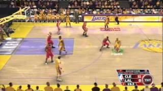 NBA 08 (PS3) LAKERS vs CAVALIERS