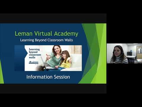 Leman Virtual Academy Google Information Session 2021 02 23