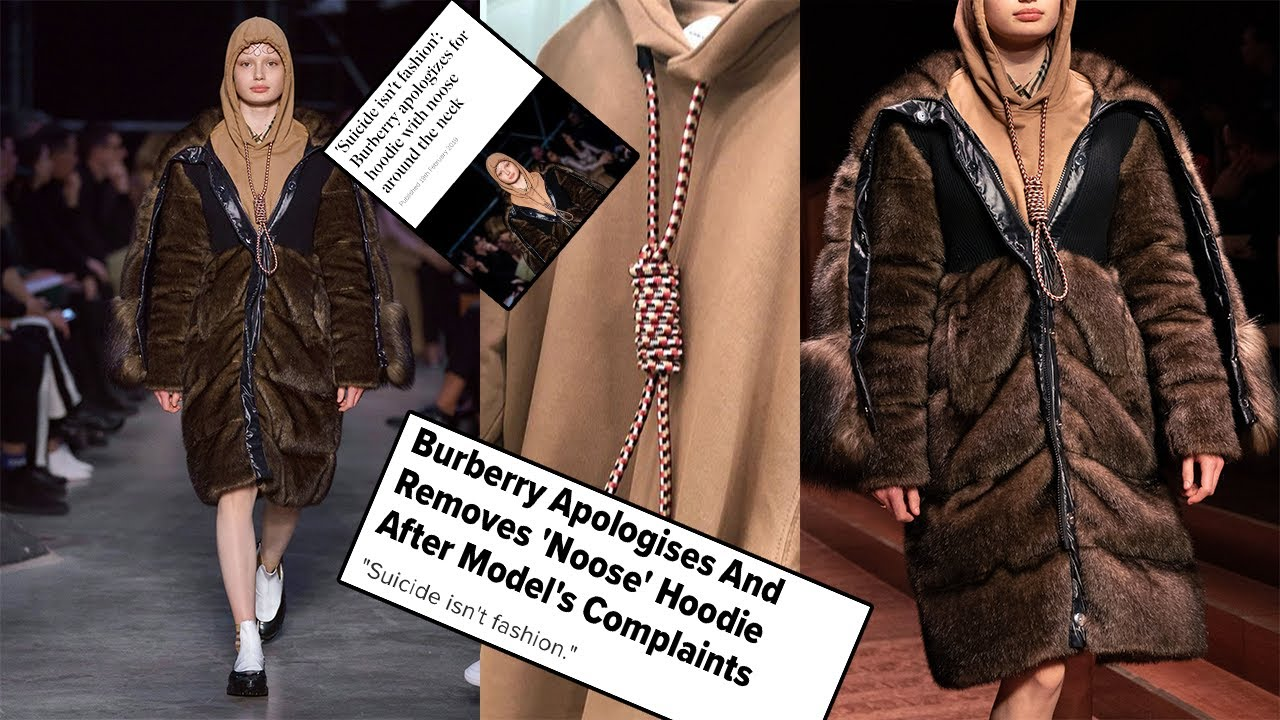 Burberry Apologizes After Featuring Sweatshirt With Noose in Fashion Show