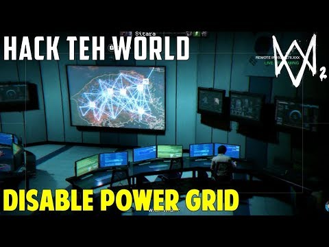 Disable the power grid in Seoul | Hack Teh World | Watch Dogs 2