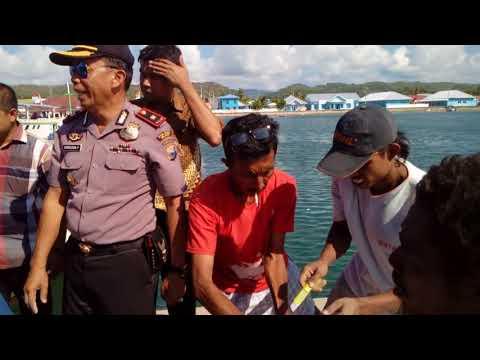 Video : Bupati Sidak Seribuan Karung Beras Raskin Rusak Di Pelabuhan