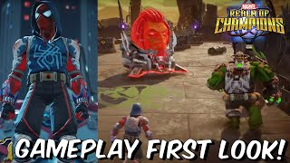 Marvel Realm of Champions Gameplay First Look & Full Breakdown - Marvel Contest of PVP 2020