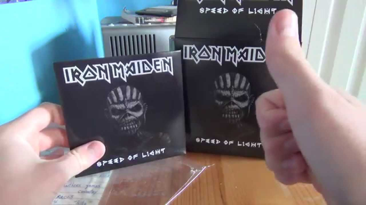 Iron Maiden Speed Of Light Best Buy Exclusive Cdt Shirt Bundle