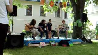 Feels Like Fire, unplugged version (Yna Sobota exhibition Banská Bystrica 11.6.2010)
