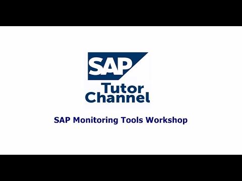 SAP Monitoring Tools Workshop