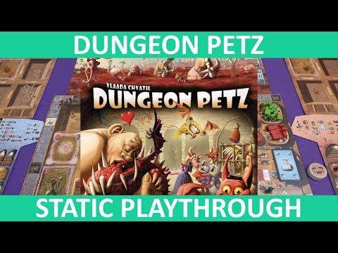 Dungeon Petz | Playthrough (Static Camera) | Slickerdrips