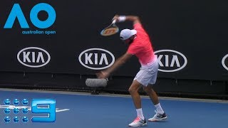 Australian Open Highlights: Travaglia v Basilashvili - Round 2/Day 3