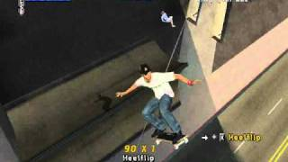 Tony Hawk PRO Skater 4 Gameplay