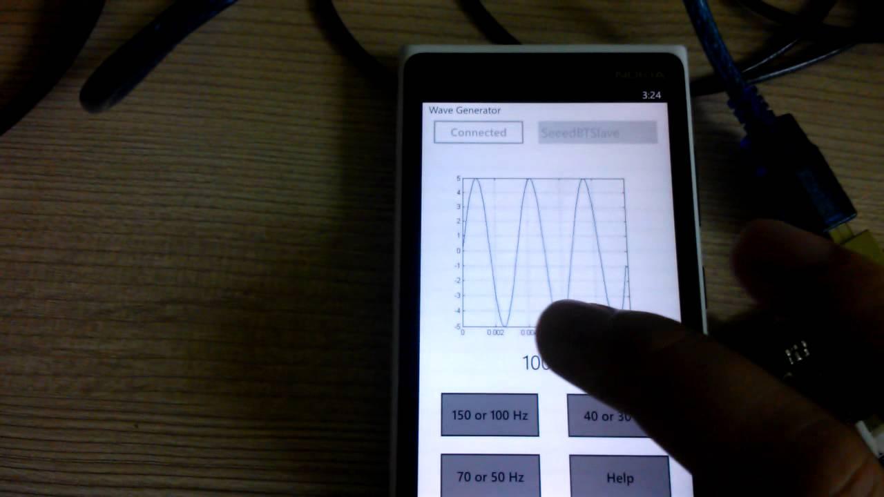 Function Generator For Windows : Windows phone function generator using arduino uno via