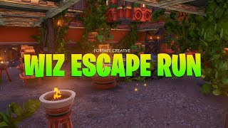 Wiz Escape Run (Fortnite Creative Map + Code)