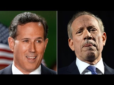 Rick Santorum and George Pataki Next Republican VPs?