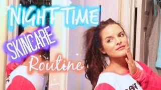 Night Time Skincare Routine! Rosacea / Sensitive / Oily Skin | Casey Holmes