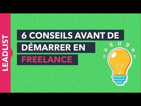 6 CONSEILS POUR DÉMARRER EN FREELANCE #1