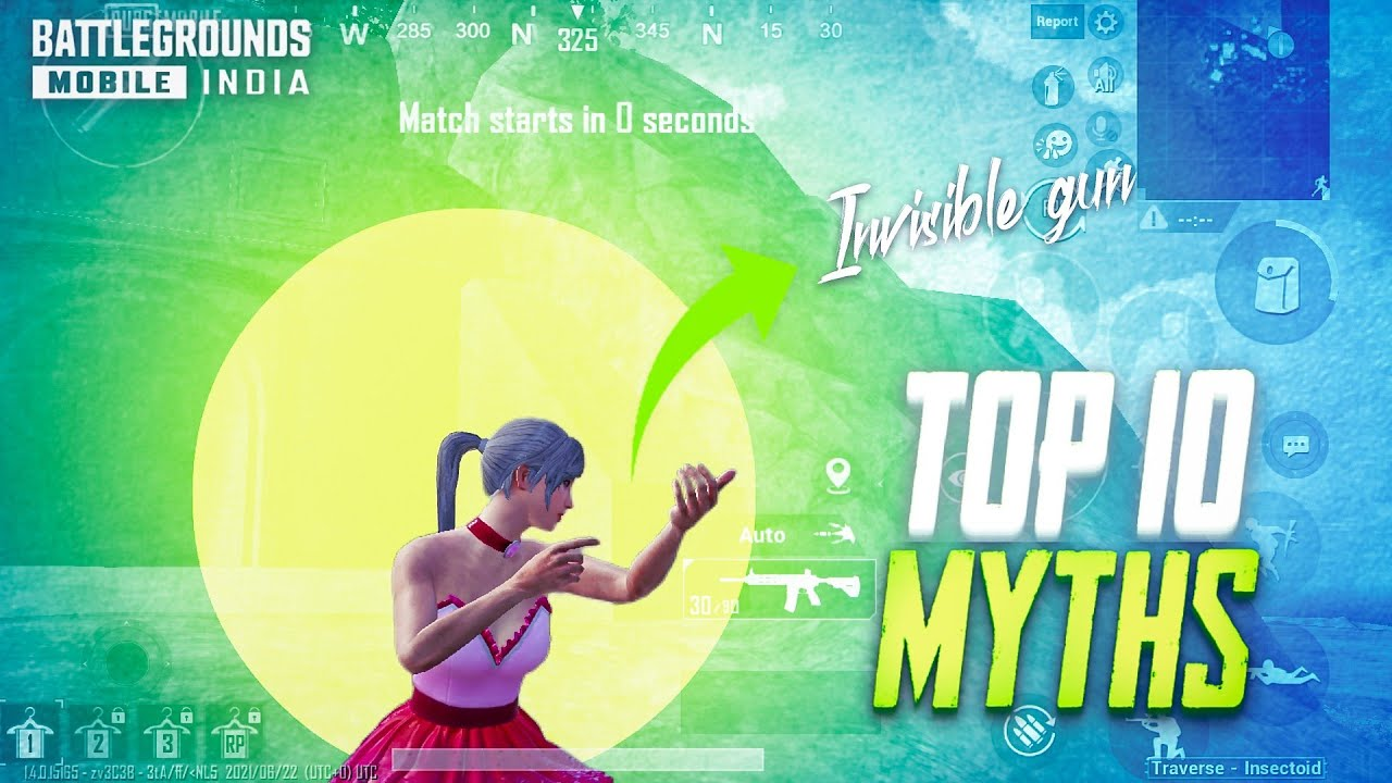 Download Top 10 Mythbusters In PUBG Mobile | BGMI/PUBG New Myths #43