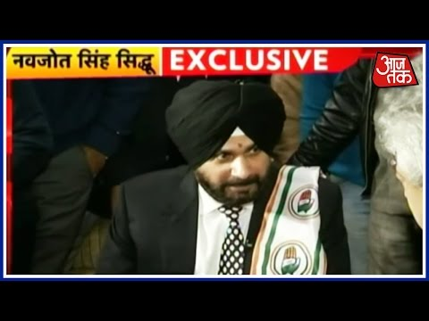 Exclusive: Navjot Singh Sidhu's Interview, After Joining Congress