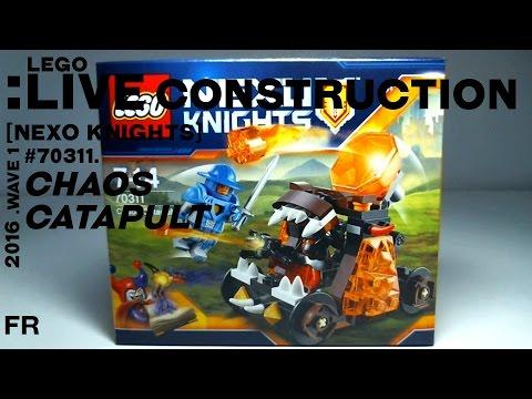 LEGO Live Construction : Nexo Knights' Chaos Catapult [Français ...