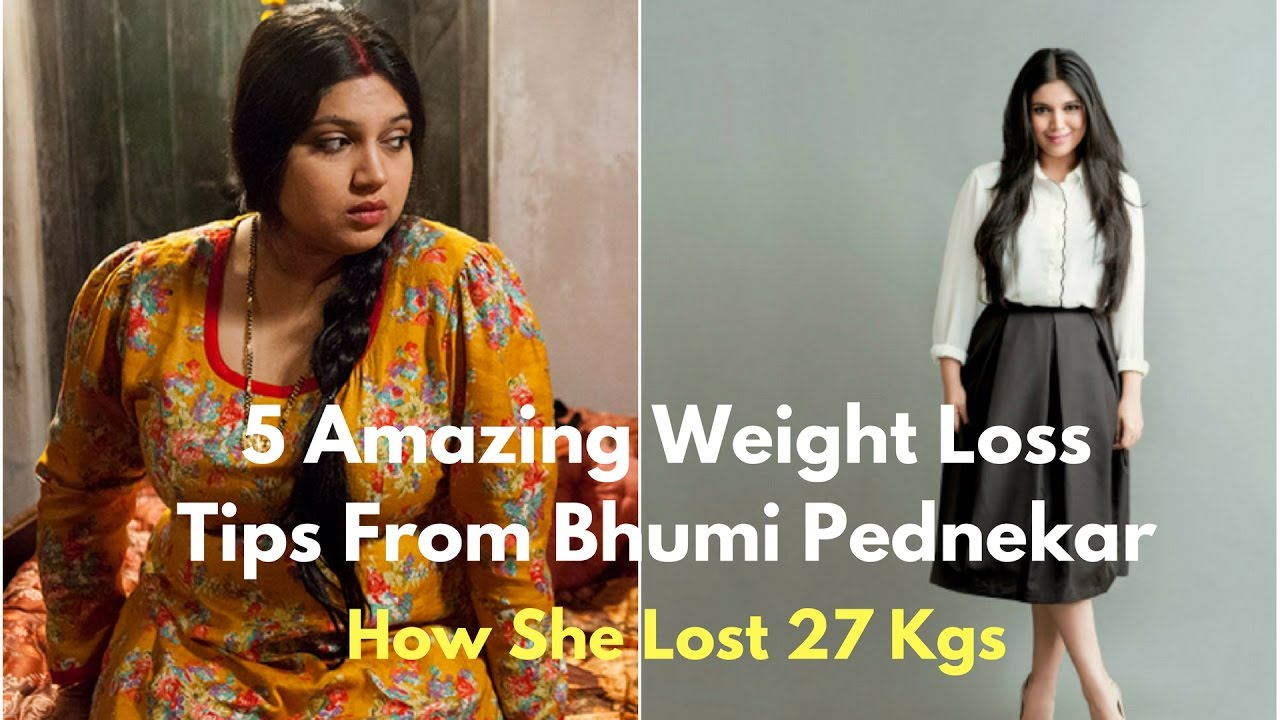 Bhumi Pednekar Weight Loss
