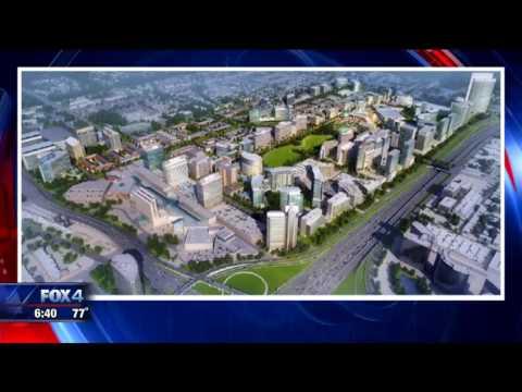 Dallas Midtown construction begins