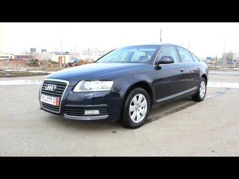 2010 Audi A6. Start Up, Engine, and In Depth Tour.