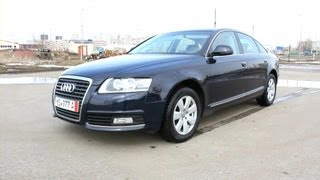 2010 audi a6 start up engine and in depth tour