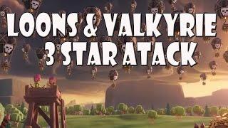Top Attack Loons & Walküre 3 Sterne | Let´s Play CoC/ Clash of Clans | Deutsch/ German