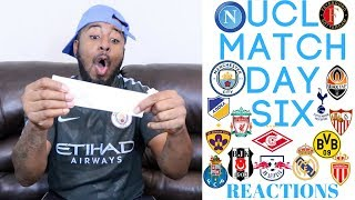 2017/18 UEFA CHAMPIONS LEAGUE MATCH DAY SIX REACTION | MAN CITY IS FINALLY DEFEATED