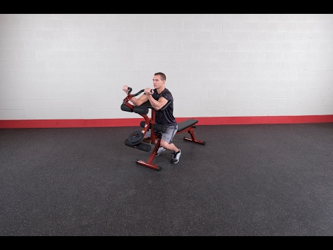 Best Fitness Leg Developer & Preacher Curl Attachment BFPL10 (BodySolid.com)