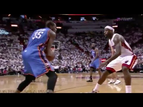 Kevin Durant Exposes LeBron's Overrated Defense (Incomplete) - 2012 NBA Finals