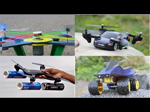 4 Amazing DIY TOYs - 4 Amazing Things You Can Do It Compilation